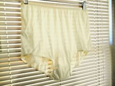 Vintage 100% Acetate Panties  Ivory Size 9 Made In  The United States