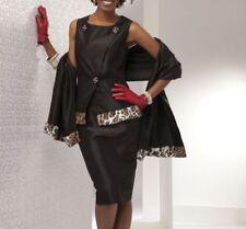 size 8 Joanelle Skirt Church Suit by Ashro bonus wrap new