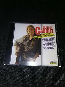 CD Günter Gabriel Hey Boss ich brauch mehr Geld