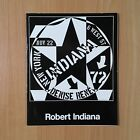 Vintage ROBERT INDIANA Book 1972 Print Catalogue Art LOVE Denise Rene POP Art