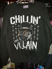 VILLAIN Authentic NJPW sweatshirt small Bullet Club Marty Scurll christmas