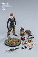 JOYTOY 1/18 Captain Female Figure Set JT0777 09ST Legion Mecha Cavalry Model Toy