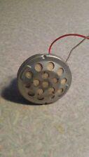Vintage Microphone Bullet Harp Mic DYNAMIC Element 420 Ohms MED Z