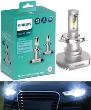 Philips Ultinon LED Kit White 6000K H4 Two Bulbs Fog Light High Beam Upgrade OE