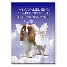 Cavalier King Charles Spaniel Guardian Angel Fridge Magnet No 2