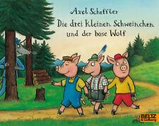 Die drei kleinen Schweinchen und der böse Wolf Scheffler, Axel Minimax