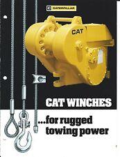 Equipment Brochure - Caterpillar - Winches (E3254)