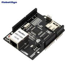 Ethernet Shield W5100 - Micro SD Port - RobotDyn - pour Arduino Uno R3 Mega 2560