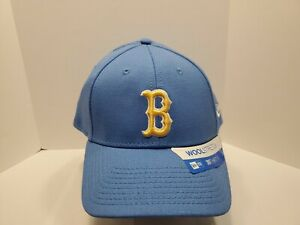 New Era 39thirty Flexfit Hat Cap UCLA Bruins Football Blue Medium Large NWOT