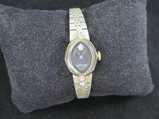 VINTAGE WITTNAUER MECHANICAL WIND UP LADIES WATCH w DIAMONDS
