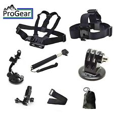 ProGear Head Chest Accessory Mount Bundle for GoPro HERO 2/3/3+/4 Session Camera