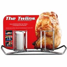 Camp Chef Double Beer Can Chicken Holder W
