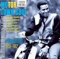 MOTOR TOWN SOUL FROM DETROIT 1958-1962 Various NEW & SEALED 10CD BOX SET MOTOWN