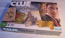 CLUE HARRY POTTER Secrets of Hogwarts Edition 100% COMPLETE Board Game - L@@K!!!