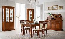 Esstisch ausziehbar 140-230 cm Ducale Kirschbaum Furnier Holz   Italy