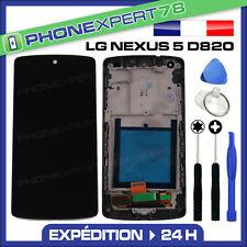 ECRAN LCD VITRE TACTILE NOIR BLOC COMPLET LG GOOGLE NEXUS 5 D820 + KIT OUTILS