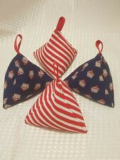 Sewing Pattern Fabric Weights handmade NEW baking cupcake craft