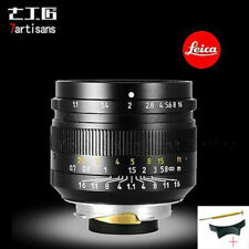 7artisans 50mm f/1.1 Leica M Mount Fixed Lens for Leica M-M M240 M3 M6 M10