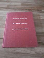 THOMAS SCHUTTE Wattwanderung 2001 138 couper plate prints  + ex-libris Neuf