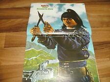 KUNG FU  # 116  von 1979 -- Geheimnis der Jade-Festung // mit POSTER