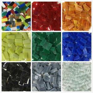 Rectangle Glass Mosaic Tiles10x20mm DIY Arts Crafting Glass Mosaic 50PCS