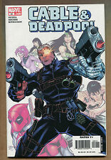 Cable & Deadpool #22 - Bosom Buddies Pt. 3 - (Grade 9.2)WH