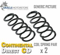 2 x CONTINENTAL DIRECT REAR COIL SPRING PAIR SPRINGS OE QUALITY - GS8009R