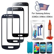 Front Screen Glass Lens Replacement for Samsung S3 S4 S5 Mini Tools Kit UV Glue