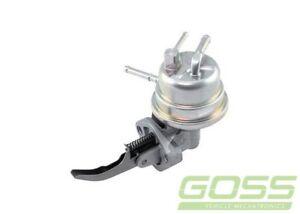 GOSS Mechanical Fuel Pump-G651A for Ford Festiva 1991-1994 Petrol Hatchback