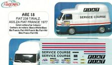 DECALS 1/43 x FIAT 238 TETTO ALTO FIAT FRANCE 1977  Arena Tk018