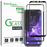 3x For Samsung Galaxy S9 Plus 3D Curved Tempered Glass Screen Protector (3 Pack)