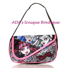 Monster High Shoulder Bag Handbag Purse Draculaura Frankie Stein & More NWT