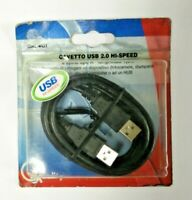 Cavo usb 2.0 Hi-Speed 1,8 metri 2 spine tipo A Quality Made In Italy no china