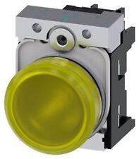Indicador LED amarillo Siemens SIRIUS acto, 22mm recorte, IP20, IP66, IP67, IP69, Ip
