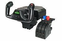 Logitech G Saitek Pro Flight Yoke System - Sistema de Control para simuladores,