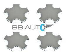 NEW Set of 4 Chrome Wheel Hub Center Caps for 2000-2004 Chevrolet Corvette Z06