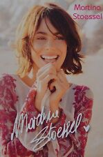 MARTINA STOESSEL - Autogrammkarte - Autograph Tini Autogramm Clippings Sammlung