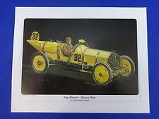 1911 Indianapolis 500 Winning Ray Harroun Marmon Wasp Print by Ron Burton Indy