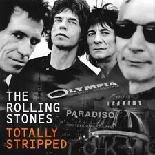 THE ROLLING STONES - TOTALLY STRIPPED (+2 LPs)  3 DVD NEW+