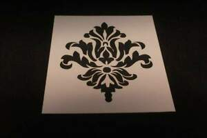 Damask  Mylar Stencil  Airbrush Paint Durable Reusable  -L526*_*
