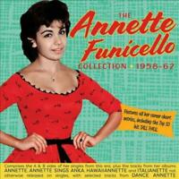 ANNETTE FUNICELLO - SINGLES & ALBUMS COLLECTION 1958-62 (2 CD) NEW CD
