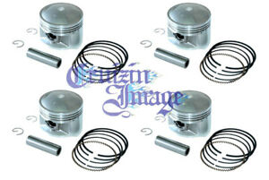 80-86 SUZUKI GS850 1.0mm OVERSIZE PISTONS SET 70.00mm 10-GS850PS-2