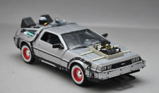 Welly 1:24 Delorean Time Machine Back to the Future Part 3 Diecast Model Car