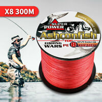 8 strands 300m Super Strong Japanese Multifilament PE braid Braided fishing line