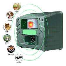 Yard Guard Ultrasonic Pest Repeller Outdoor Control Electronic Dog Cat Repellent