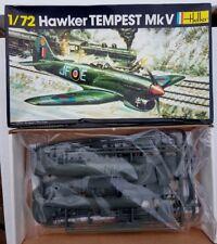 HELLER 1/72 SCALE HAWKER TEMPEST MK V MODEL KIT #274 - CONTENTS FACTORY SEALED