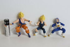 Lot of 3 Goku Gohan Trunks Dragon Ball Z Magnet Gashapon Figure HG Japan Import