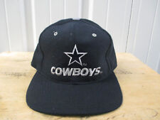 VINTAGE NEW ERA DALLAS COWBOYS BLUE SEWN 90s 7 1/4 FITTED CAP HAT NEW W/ TAGS