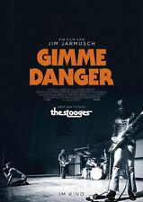 GIMME DANGER: LONG LIVE THE STOOGES - Orig.Kino-Plakat A1 - Jim Jarmusch Gerollt