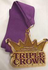 Rock N Roll Marathon Series Triple Crown Medal and Ribbon